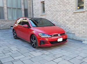 VW GTI 2018 Lease Take Over Tornado Red Driver Assistance Pkg