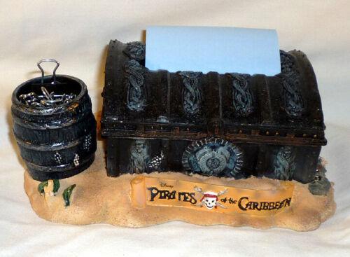 "Disney Pirates Of The Caribbean 3"" Post It Note Dispenser & Pen Holder"