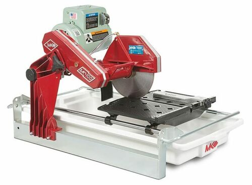 "NEW MK DIAMOND  MK-100  1-1/2"" HP, 10"" WET CUTTING TILE SAW"