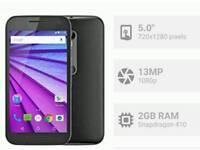 Motorola Moto G (3rd Gen) _ 5 inch _ 1.4GHZ Quad Core _ 13MP _ HD _ 4G _ Waterproof