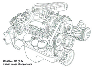 1967 273 cu in. V8 Engines