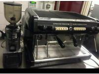 BRASILIA OPUS 2 GROUP AUTOMATIC COFFEE MACHINE WITH KNOCKOUT DRAWER AND GRINDER
