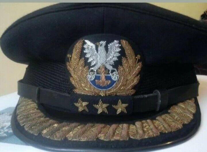 Czapka admirała marynarki wojennej LWP / Polish People