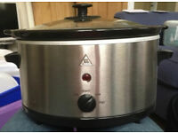 Tesco SCSS12 3 litre Slow Cooker Used Once - In Good Condition
