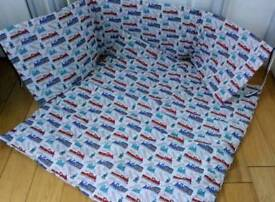 New Handmade Babys cotset bedding quilt