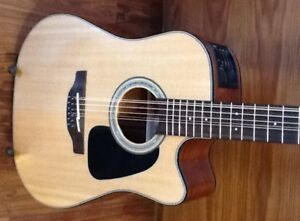 Takamine 12 string electric-acoustic guitar