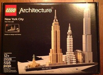 LEGO 21028 Architecture New York City New Sealed Free Shipping!