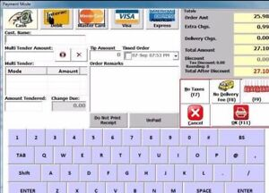 POS software for pizza stores/restaurants - only $400