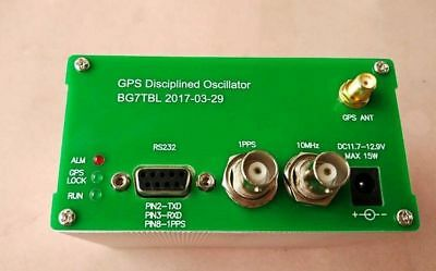 New 10mhz Output Sine Wave Gps Disciplined Clock Gpsdo Gps Antenna Power