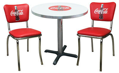 Coca-Cola Diner Chair Chairs & Table Coke Bottle for sale  Chicago Ridge
