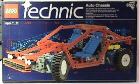 Vintage LEGO Technic 8865 Test Car 30 years old Complete