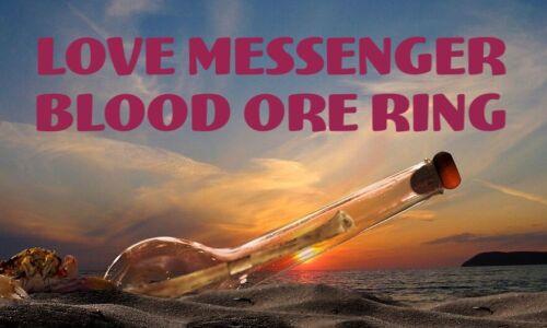 Love Messenger Voodoo Blood Ore Ring Romance Spell Kit Lover Marriage Soul Mate