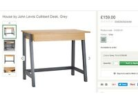 Free John Lewis Desk (like new, bought for £159)