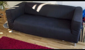 Ikea kipplan sofa with cover
