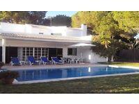 3 Bed Villa Near The Beach In Almancil WiFi, Sky Tv ,Swimming Pool