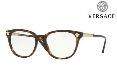 VERSACE Glasses VE3242 (108) Dark Havana / Gold RRP-£198