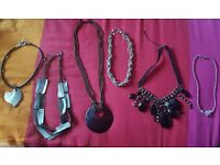Necklace collection variety