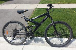 """Mountain Bike For Sale FULL-SUSP. 21-Spd 26""""TIRES 18"""" FRM.MIELE"""