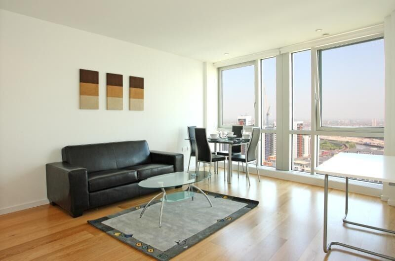 ***HIGH SPEC STUDIO FLAT IN THE SOUGHT AFTER ONTARIO TOWER E14 - AVAILABLE NOW - ONLY £290 PER WEEK*
