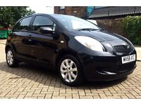 Toyota Yaris,1.3,25000 miles with FSH,Hpi clear
