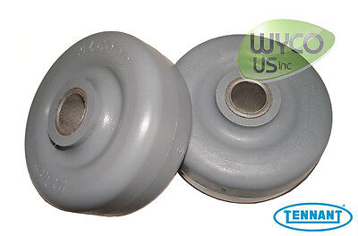 2 Squeegee Wheels Tennant A5 T5 T2 5300 5400 Speed Scrub Scrubbers 630477