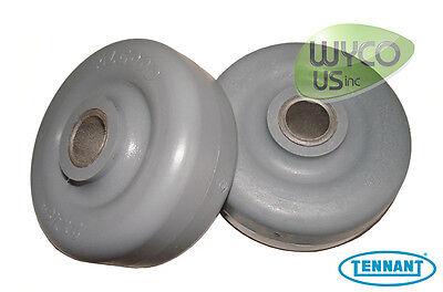 2 Squeegee Wheels Tennant A5 T5 T2 5300 5400 Speed Scrub Scrubbers 630477