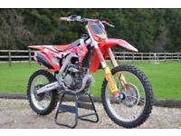 2017 17 HONDA CRF 250 4 STROKE MOTORCROSS BIKE WITH A 265 CONVERSION