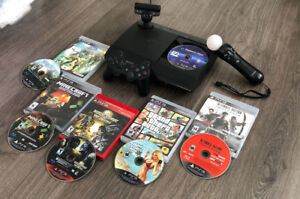 Brand new! PlayStation 3 w/ 7 games + 1TB + PS3 Move and more!!