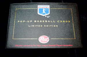 1993 Post Pop-Up Baseball set with Album