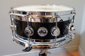 SELL AMAZING SOUNDING DW EDGE SNARE 14'' x 6'' Maple & Brass!