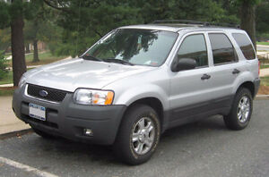 2002 Ford Escape SUV, Crossover $2500 OBO as is