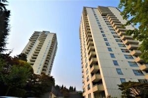 OUTSTANDING bright & very spacious Bachelor Studio in Metrotown