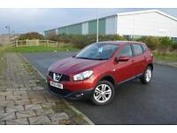 2013 63 NISSAN QASHQAI 1.6 [117] Acenta 5dr in Red