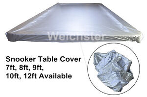 Snooker pool table covers waterproof plastic weighted 7ft for 12ft snooker table for sale uk