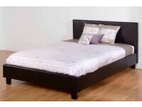 Sleep In Comfort---------king and double size leather bed frame