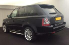 2010 BLACK RANGE ROVER SPORT 3.0 TDV6 HSE AUTO DIESEL CAR FINANCE FR £67 PW