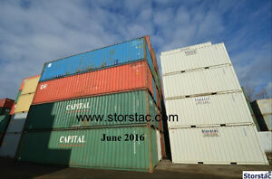 Steel Storage / Shipping Containers 10', 20', 40'- $1,675-$1,825