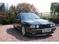 "1995 BMW 525tds AUto Oxford Green Black Leather Sport Kit 17"" Alloys"