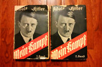 *EARLY & RARE 1933 COPY OF HITLER'S INFAMOUS MEIN KAMPF (NAZIS)*