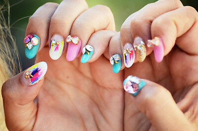 Tutorial use 3d nail art stickers ebay prinsesfo Choice Image