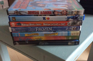 7 kids movies for $5 Strathcona County Edmonton Area image 1