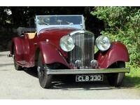 1935 Bentley 3.5 Litre Vanden Plas style Cutaway door Tourer. Touring Petrol Man