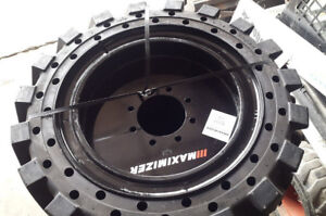 Maximizer Solid Tires for Skid Steer 10-16.5