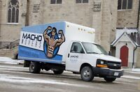 MACHO MOVERS Moving & Delivery