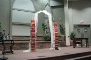 Book Arch for wedding or other special occasions