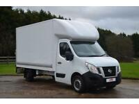 2015 65 NISSAN NV400 2.3 DCI SE LUTON LONG WHEEL BASE WITH TAIL LIFT 125 BHP DIE