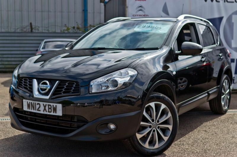2012 nissan qashqai 1 6 tekna is dcis s diesel sat nav black leather seats panor in cardiff. Black Bedroom Furniture Sets. Home Design Ideas