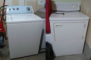 Electric Washer & Gas Dryer