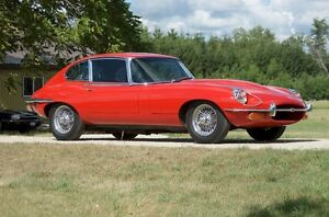 1970 Jaguar E-Type 2+2 Coupe