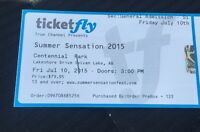 Summer Sensations Beach Music Festival tickets July 10th